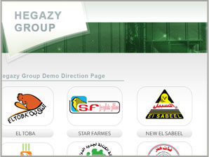 Hegazy  Group Landing Page